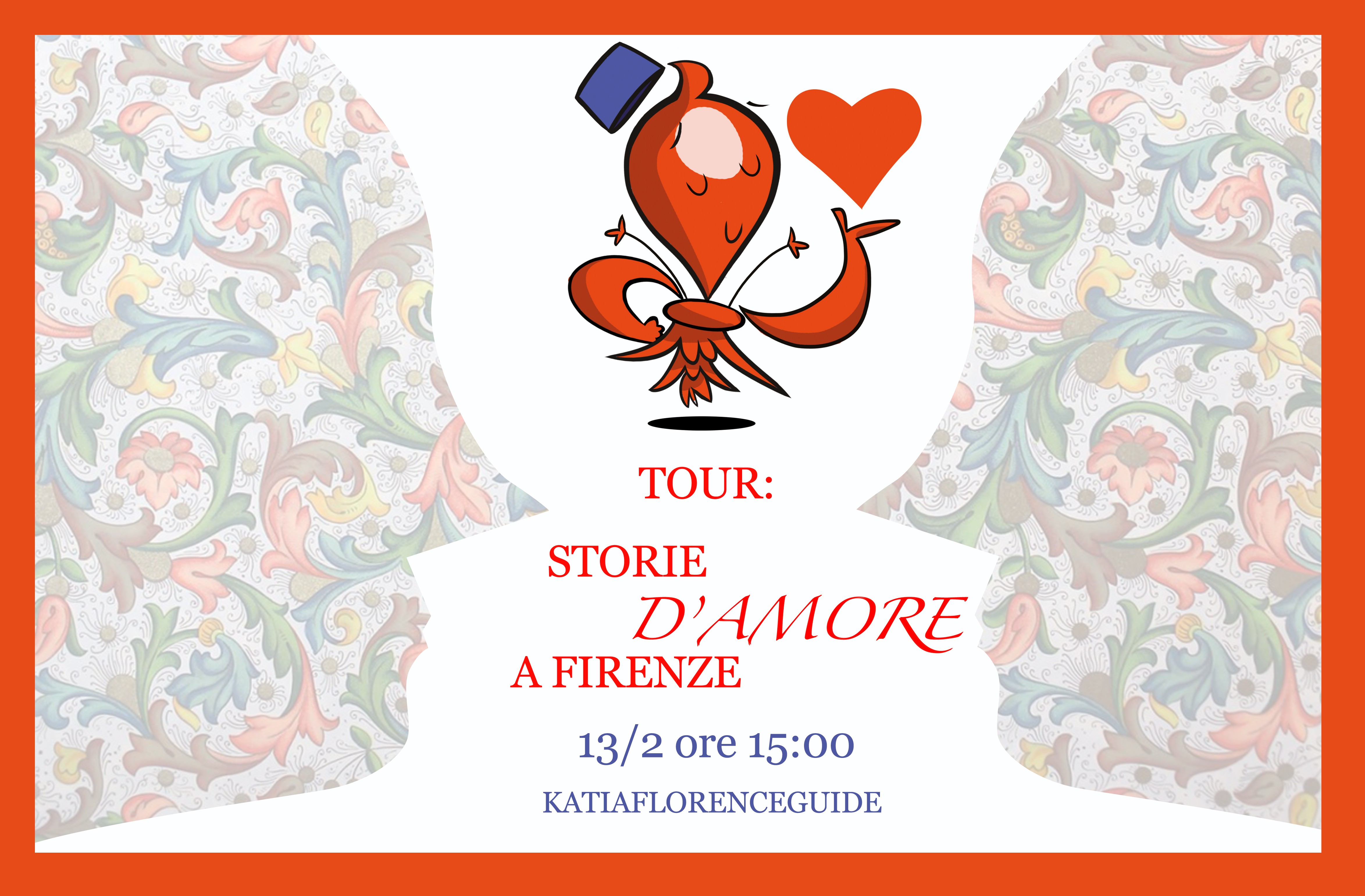 Tour Storie d'amore a Firenze - katiaflorenceguide - San Valentino